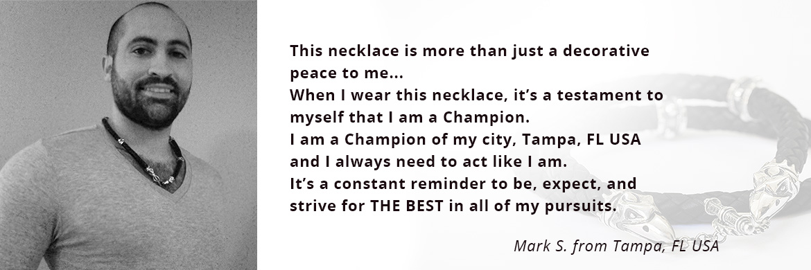 Customer Review on Crixus Harbinger of Death Necklace